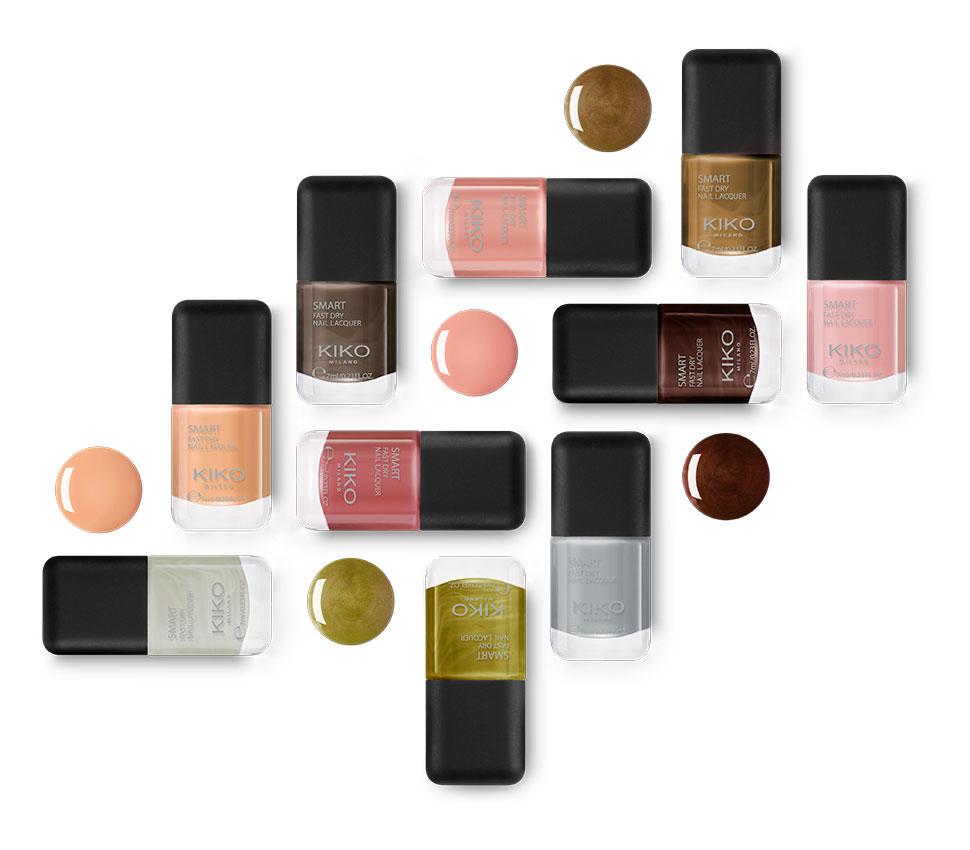 New shades Smart Nail Lacquer - KIKO MILANO