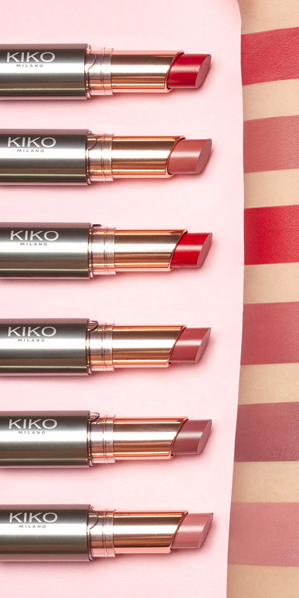 Long Hold Creamy Lipstick Semi Matte Unlimited Stylo Kiko Milano
