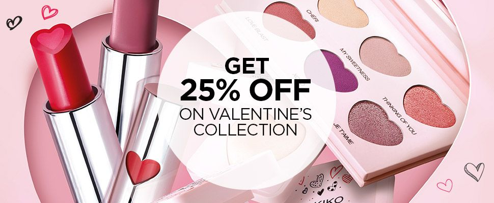 With the purchase of 2 Sweetheart products - valid online only until 14/02/2019