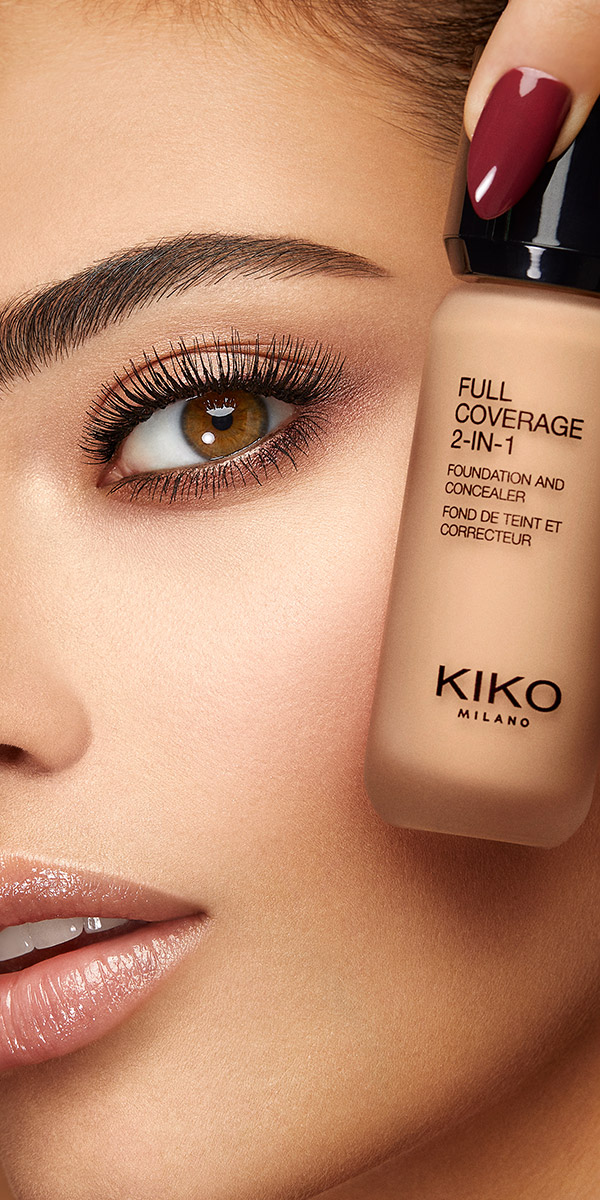 Full Coverage 2 In 1 Foundation Concealer Full Coverage 2 In 1 Foundation Concealer Kiko Milano