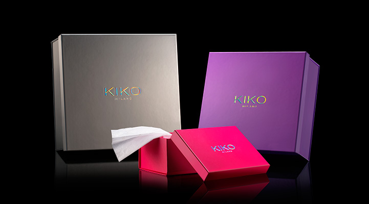 Gift boxes for all of your kiko products kiko makeup milano kiko now when shopping in the online store you can have your presents gift wrapped in unique gift boxes for only an additional negle Gallery