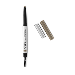 Mascara colorato con fibre per sopracciglia pettinate e riempite - Eyebrow Fibers Coloured Mascara - KIKO MILANO