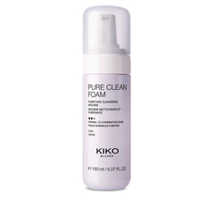 2-In-1 cleanser and scrub enriched with plant-based charcoal and volcanic sand - DARK TREASURE CHARCOAL FACE CLEANSER & SCRUB - KIKO MILANO