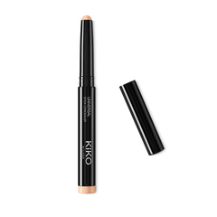 Face and eye brush with densely packed fibers for applying concealers and eyeshadows - Face 02 Intensive Coverage Brush - KIKO MILANO