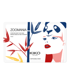 Hydrogel face mask with blue flower extract - Frequent Flyer - KIKO MILANO