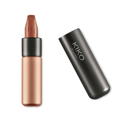 Flat lip brush with synthetic fibers - Lips 80 Flat Lip Brush - KIKO MILANO