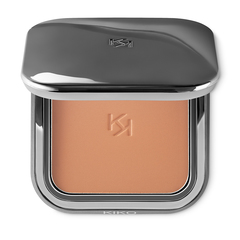 Compact bronzer in four colours with a matte finish, enriched with diamond dust - DARK TREASURE ALL IN ONE BRONZER - KIKO MILANO