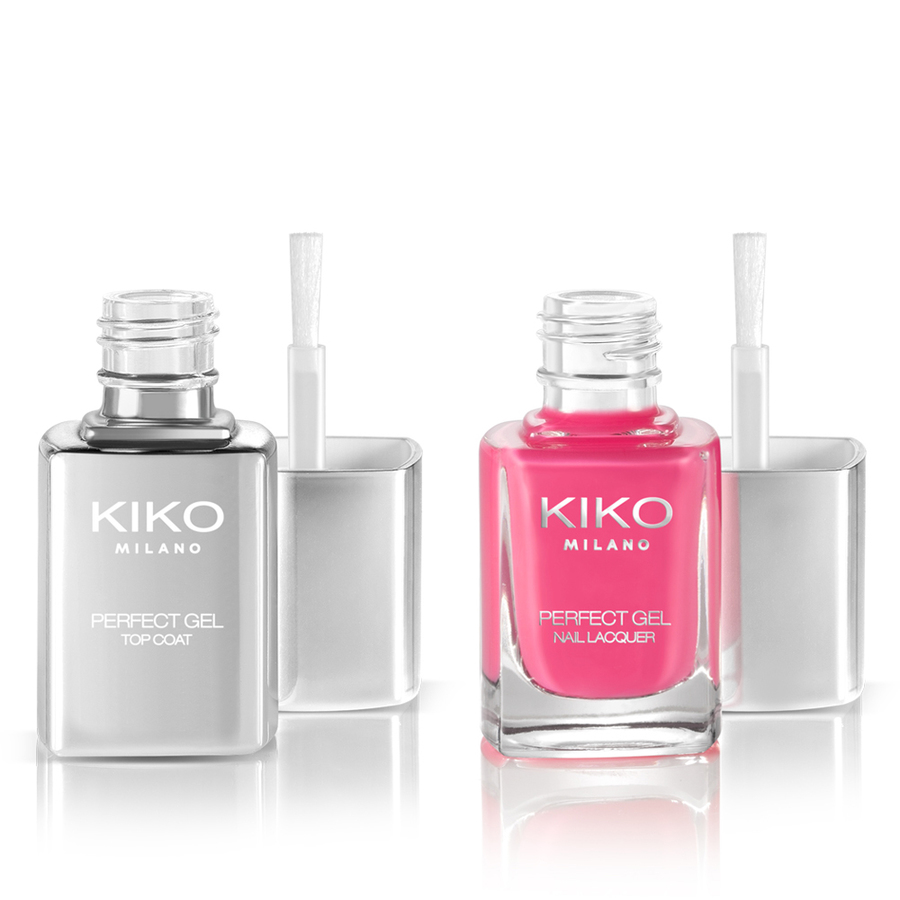 Gel effect nail polish - Perfect Gel Duo - KIKO Milano