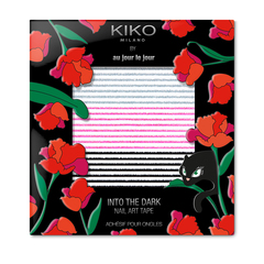 Nail stickers to apply on top of polish - Into The Dark Nail Art Stickers - KIKO MILANO