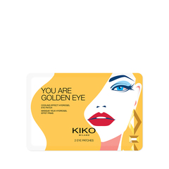 Kit occhi effetto anti-fatica composto da: dischetti idratanti e mascherina occhi con gel - Jelly Jungle Cooling Eye Kit - KIKO MILANO