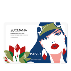 Hydrating tiger sheet mask - Zoomania - Tiger - KIKO MILANO