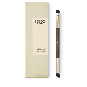 Palette of 9 pressed powder eyeshadows in nude shades - GREEN ME Eyeshadow Palette - KIKO MILANO