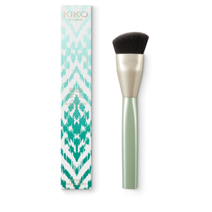 Bronzer and face powder brush. Synthetic fibres - Free Soul Bronzer Brush - KIKO MILANO