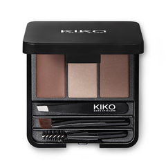 Eyebrow brush with synthetic fibers - Eyes 64 Brow Comb Brush - KIKO MILANO