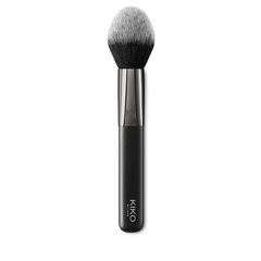 Synthetic-fibre face powder brush - SPARKLING HOLIDAY POWDER BRUSH - KIKO MILANO