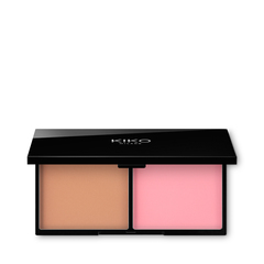 Compact blush with a radiant finish, enriched with diamond dust - DARK TREASURE BLUSH - KIKO MILANO