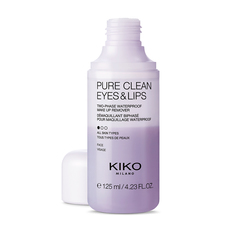 Travel-size 2-in-1 cleansing milk and toner - Pure Clean Milk & Tone Mini - KIKO MILANO