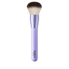 Flacher Pinsel für flüssige oder cremige Foundation, Synthetikborsten - Smart Foundation Brush 101 - KIKO MILANO