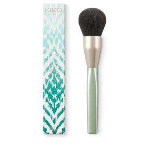 Brush for blending blush and highlighter. Synthetic fibres - Free Soul Blush&Highlighter Brush - KIKO MILANO