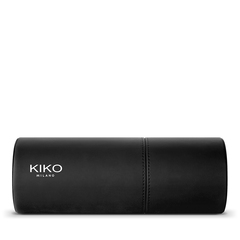 Vinyl-effect floral print pouch - Into The Dark Design Pochette - KIKO MILANO
