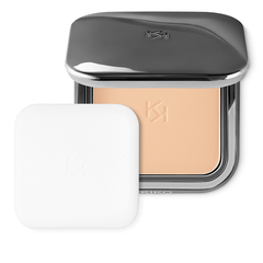 Retractable face powder brush with synthetic fibers - Smart Allover Powder Brush 104 - KIKO MILANO