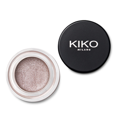 Flat brush with synthetic fibers for applying eye base - Eyes 55 Base Shader Brush - KIKO MILANO