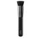 Sponge-core brush with synthetic fibers for applying liquid or traditional foundation - Face 06 Sponge Core Foundation Brush - KIKO MILANO