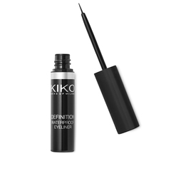 Liquid Eyeliner with fine brush applicator - Definition Eyeliner - KIKO MILANO