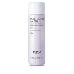 Bi-phase micellar water for cleansing your face, eye contours and lips - PURE CLEAN MICELLAR BIPHASE WATER 400ML - KIKO MILANO