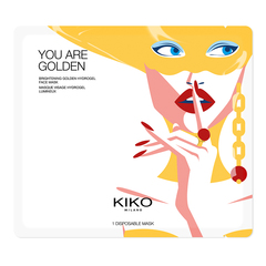 Goldfarbene Hydrogel-Augenmaske mit Honigextrakt - You Are Golden Eye - KIKO MILANO