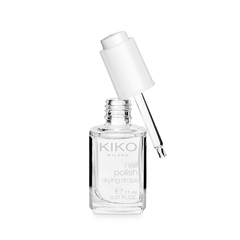 Illuminating and stain-concealing nail base coat with kukui oil - White Look Base Coat - KIKO MILANO