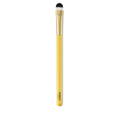 Angled eye contour brush with synthetic fibers for blending - Smart Blending Brush 201 - KIKO MILANO