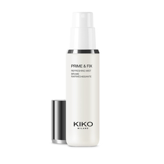 Colouring and perfecting baked face powder - SPARKLING HOLIDAY BAKED POWDER - KIKO MILANO